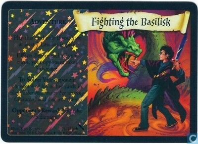 Harry Potter Chamber of Secrets Foil Card *Fighting the Basilisk* TCG CCG