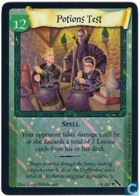 Harry Potter Chamber of Secrets Foil Card *Potions Test* TCG CCG
