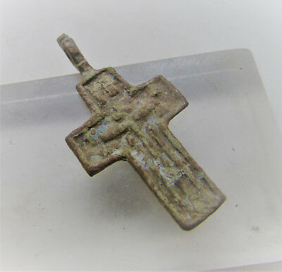 Nice Medieval/post Medieval Wearable Religious Crucifix Cross Amulet.
