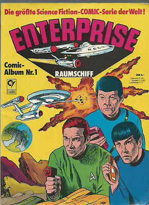 Enterprise  Comic Album Nr. 1  Condor Verlag  Z2