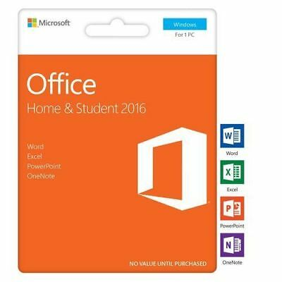 MS Office Home and Student 2016 PC Download Instant delivery & Lifetime Key