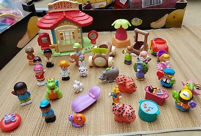 ElC Happyland And Fisher Price Little People Figures, animals & Accs