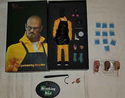 Wolfking Chemical Poisoning Teacher - Breaking Bad - Walter White 1/6 12""