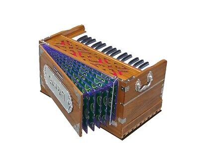 HARMONIUM~MINI~2¾OCTAVE~BASS/MALE~440 Hz~DOUBLE REEDS ~BHAJAN~KIRTAN~YOGA~MANTRA