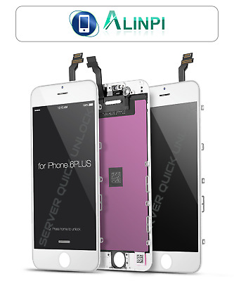 "Pantalla Completa para iPhone 6 Plus 5.5"" Blanca LCD + Tactil Blanco"