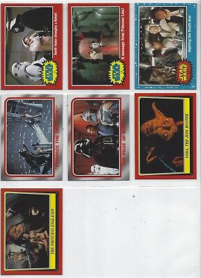 Star Wars HERITAGE trading cards DVD promo set of 7 (TOPPS 2006)