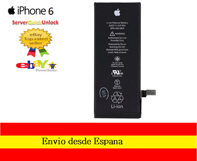 "Bateria Apple Original Iphone 6 4,7"" APN 616-0809 1810mAh"