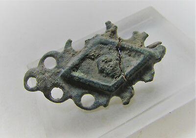 Roman Military Artefact Openwork Millifori Brooch Authentic Imperial Artefact