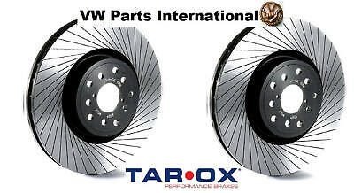 VW Vento 1.4 Tarox 256mm G88 Performance Front Brake Discs Upgrade Track Fast...