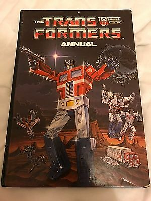The Transformers Annual 1986 Marvel