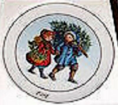 Sharing the Spirit Plate - Porcelain - 1981