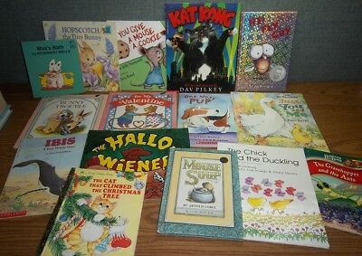 LOT Kids Books AR ANIMALS Max Between Lions Fly Guy Kat Kong Duck Mouse Bunny