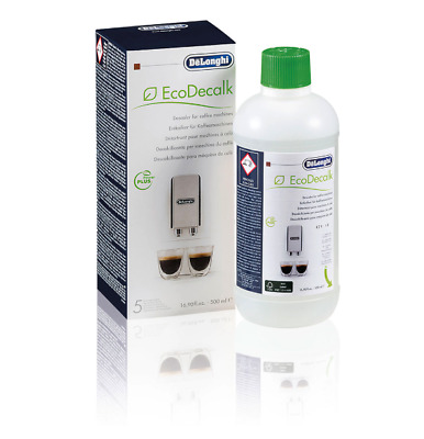 Delonghi DLSC500 Coffee Machine Descaler 500ml Pack for 5 Descaling Operations