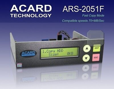 Acard ARS2051F 1 to 1 SATA HDD SSD Hybrid Duplicator Controller ONLY ONE LEFT