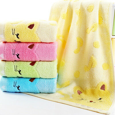 Quality Soft Cotton Baby Infant Newborn Bath Towel Washcloth Feeding Wipe Cloth~