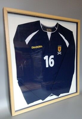 Personally Owned Gordon Greer Framed Scotland Football Shirt 2003 - 2005 LOOK