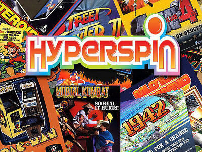 Hyperspin 2TB HDD OVER 100 systems with 45000+ games on the wheel!