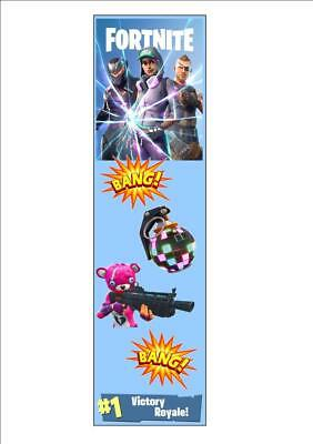 Fortnite Bookmark Kids Gift Perfect Battle Royale Stocking Filler Game Floss