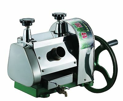 Manual Sugar Cane Juicer, SugarCane Juice Extractor Squeezer Hand Press Machine