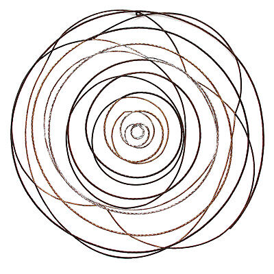 Extra Large Statement Spiral Metal 3d Wall Art Wall Hanging
