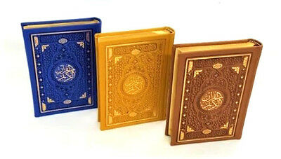 Beautiful: Arabic Mushaf Quran (Uthmani Text -Gold Edge -14.2x10cm-HB) 3/174-DSC
