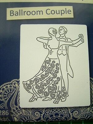 Man Lady Dancing - BALLROOM COUPLE DIE D1353 - Tattered Lace Stephanie Weightman
