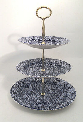 Calico 3 Tier Cake Stand by Burleigh - Burgess & Leigh