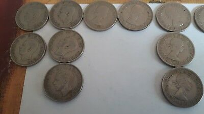 Old British Two shilling coins (pre-decimal). Choose your year--ALL 99P each.