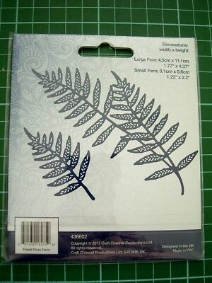 Realistic Fern Fronds - FOREST PINES FERNS DIE SET 436602 - TATTERED LACE