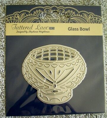 GLASS BOWL DIE TLD0309 - TATTERED LACE - Stephanie Weightman