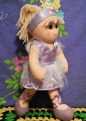 *Hopscotch 35cm Rag Doll BECKY the pretty Ballerina*