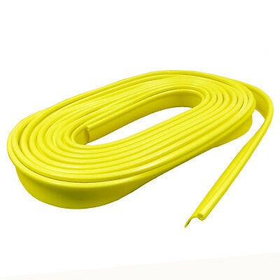 2 x 12 metre packs CARAVAN AWNING RAIL PROTECTOR STRIP - YELLOW motorhome