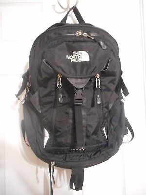 f80568959 THE NORTH FACE Surge Backpack Laptop Approved Bag Black