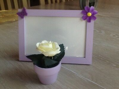HAND DECORATED PHOTO frame - £2.50 | PicClick UK
