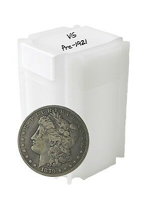 Pre 1921 Silver Morgan Dollar VG+ Lot of 20 Mix Dates and Mint Marks