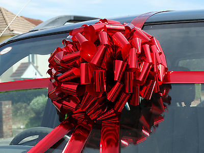MEGA BIG CAR BOW  for Cars,Metallic, Large Birthday Gifts SUPERFAST DISPATCH!!