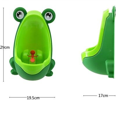 Green URINAL POTTY TRAINER Boy frog urinal trainer FREE FAST SHIPPING USA