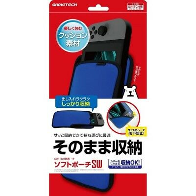 Custodia Soft Compatibile per Nintendo Soft Pouch SWITCH NUOVO SIGILLATO GAMETEC