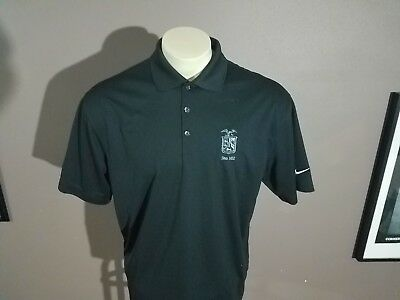Nike Golf Hanover Insurance Group  Since 1852 Crest Embroidered Men's L Shirt