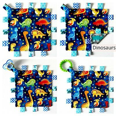 Mini Size TaGgie Taggy Tag Blanket Toy comforter Dummy clip toy Pacifier Holder