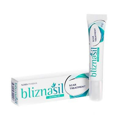 Bliznasil 15g Scar Treatment Gel Stretch Marks Tattoo Removal Acne Scars