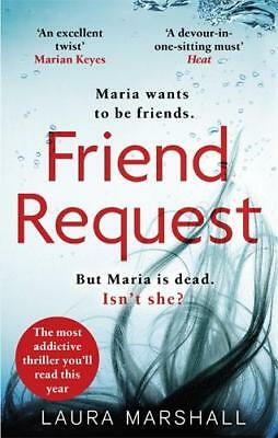 Friend Request: The most addictive psychological, Marshall, Laura, New