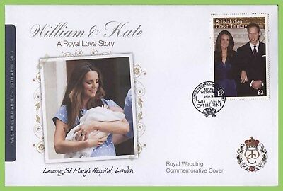 B.I.O.T. 2011 Royal Wedding William & Kate Cover, Kate leaving St Marys