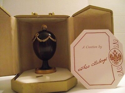 Theo Faberge Swag Egg Limited Edition Number 542 of 750