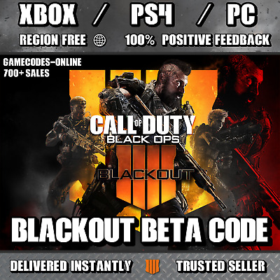 Call Of Duty Black Ops 4 Early Access BETAs- PC PS4 XBOX ONE - DELIVERED INSTANT