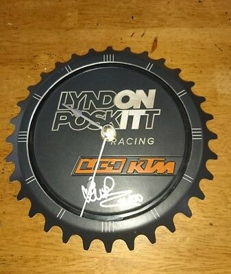 Limited Edition LPR KTM LC4 CNC Machined Clock (signed)