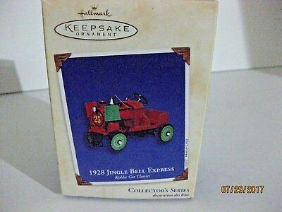 Hallmark Keepsake Ornament 2002 1928 Jingle Bell Express Collector's Series