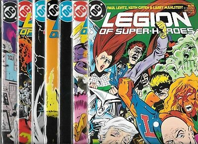 The Legion Of Super-Heroes (1984) Lot Of 7 #2 #3 #4 #5 #6 #7 #8 (Nm-) Copper Age
