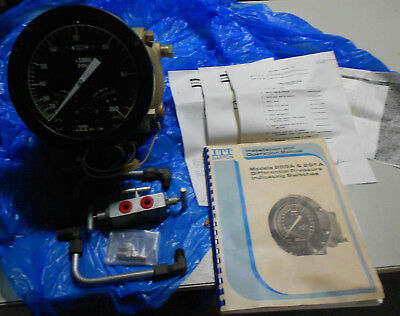 NOS ITT Barton Model 289A Differential Pressure Indicating Switch Unit