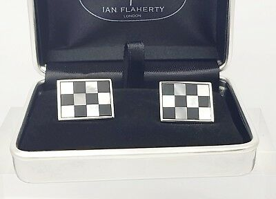 Onyx and Mother of Pearl cufflinks,Men's Cufflinks,Father of the bride cufflinks